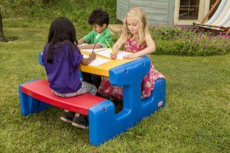 mejor-mesa-de-picnic-para-niños