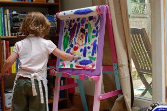 mejor-caballete-de-pintura-para-niños