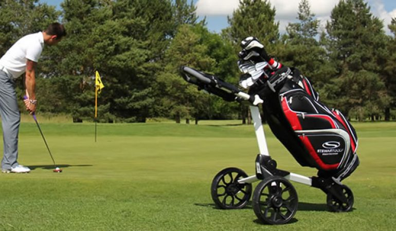 best golf push carts for the money