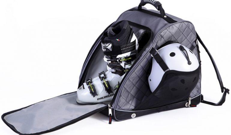 Funda para Tabla de Snowboard con 2 Compartimentos para esqu/ís y Tablas de Snowboard LOKKER