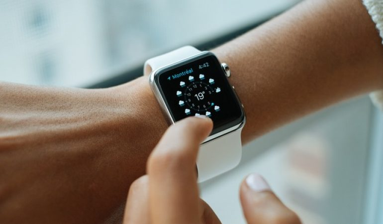 Reloj digital mujer bonito