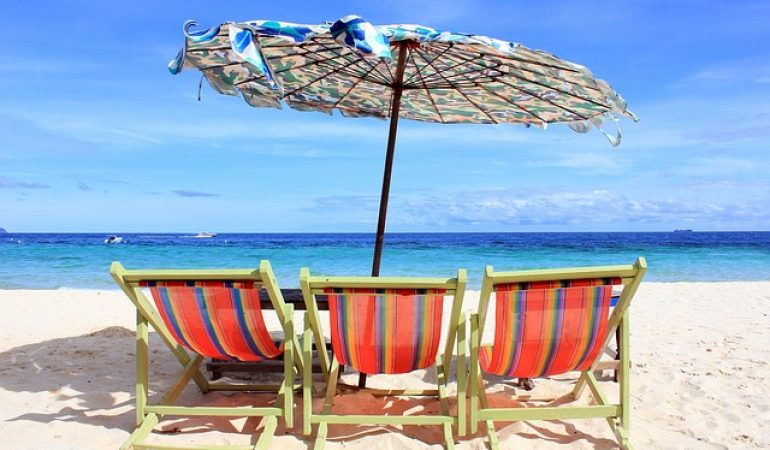 Las 5 mejores sombrillas de playa baratas 2018 ofertas y - Sombrilla playa ...